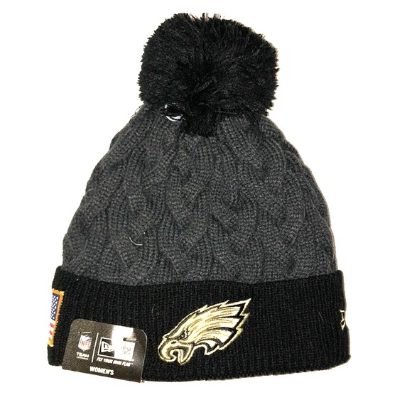 29517f34a NFL Eagles PomPom winter beanie   hat
